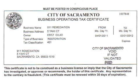 business license template certificates business license