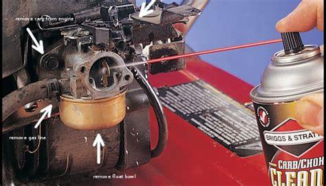 lawn mower carburetor cleaner  garden
