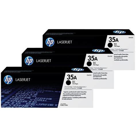Toner Printer Hp 35a Cb435a Toner Hp Toner Hp 35a Cb435a Para Impresoras Hp 1005 1006 Bs 39