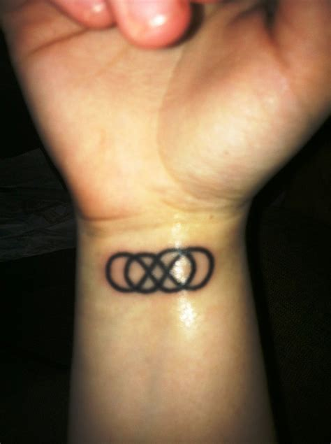 infinity tattoo for men infinity wrist designs for and