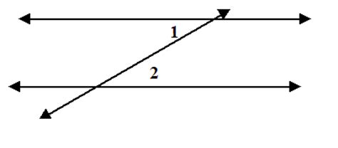 Definition Of Alternate Interior Angles by 2 12 The Parallel Postulate Mr Nockles Math Classroom