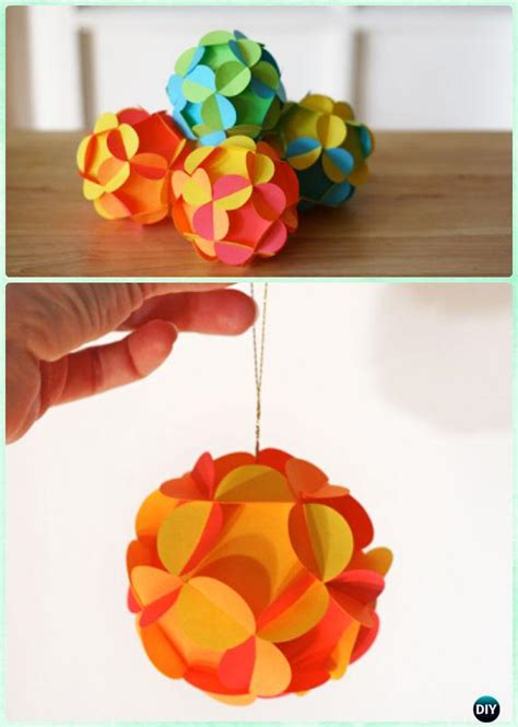 tree craft ideas diy paper tree ornament craft ideas
