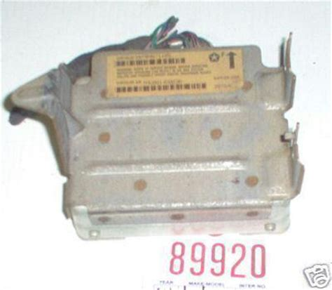 transmission control 1995 chrysler lebaron auto manual buy chrysler 93 96 concorde transmission module unit 1993 1994 1995 1996 motorcycle in clarion