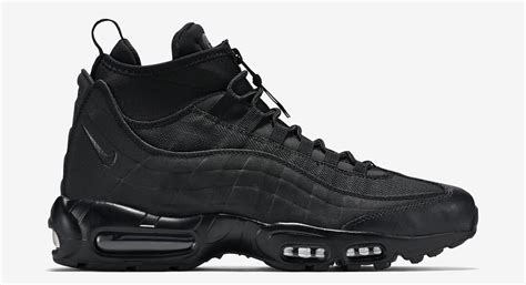 air max sneaker boots the nike air max 95 gets a winterized boot makeover