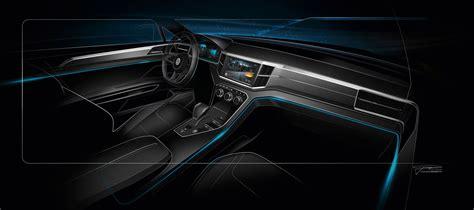volkswagen crossblue interior crossblue coupe interior vw interior project