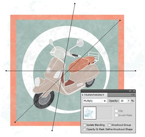 vintage line art tutorial how to create a line art vintage vector scooter in illustrator