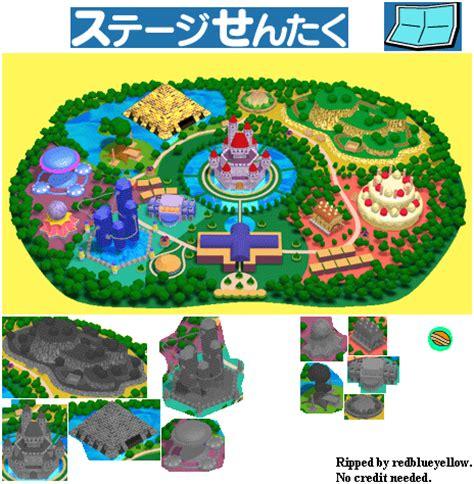 Map Doraemon gamecube doraemon minna de asobo map the spriters