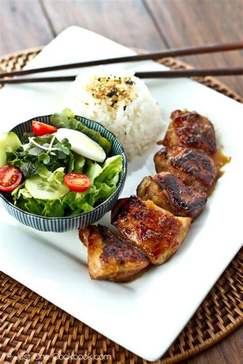 japanese dinner ideas chicken teriyaki チキン照り焼き just one cookbook