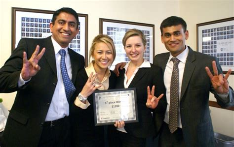 Rice Mba Scholarships by Bauer Student Teams Top Rice Mba Marketing