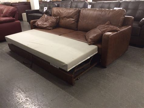Leather Sofa Bed Sale Uk by Bbx Uk Sale Aniline Leather Sofa Bed By Neumann Leathers