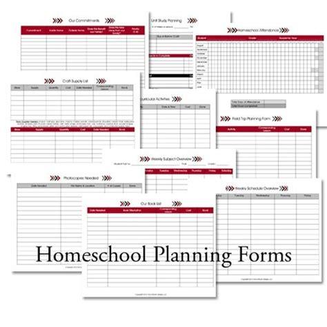 homeschool lesson plan sheets planning forms homeschool pinterest