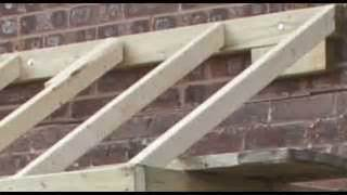 How To Build A Door Canopy Roof by Instant Video Play Gt How To Build A Conventional Wood
