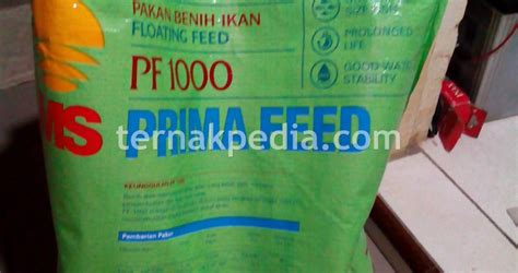 Pf 1000 Pakan Ikan daftar harga pakan lele ternakpedia