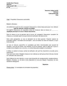 letter of application modele lettre changement de jour de