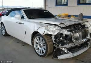 Damaged Rolls Royce For Sale Kris Jenner S Damaged Rolls Royce Is Up For Sale Daily