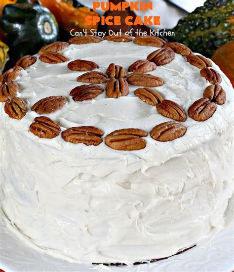 Get Out Of Spice Cake Just For pumpkin spice cake can t stay out of the kitchen