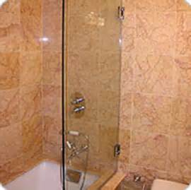 shower door guard splash guards abc shower door and mirror corporation