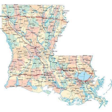 louisiana road map la road map louisiana highway map