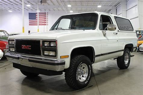 gmc jimmy 1989 sell used 1989 gmc jimmy chevy blazer 8 077 original