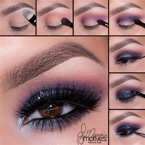 eyeshadow tutorial pictures 13 glamorous smoky eye makeup tutorials for stunning party