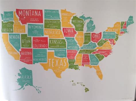 united states poster map power light press united states poster small room