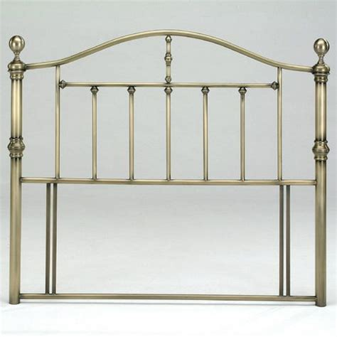 antique brass headboard buy birlea victoria headboard double antique brass