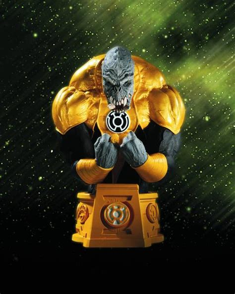 Dc Blackest White Lantern Sinestro Bust heroes of the dc universe blackest sinestro corps arkillo bu danz comix and collektibles