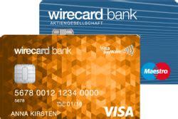 wirecard bank wirecard bank prepaid trio mit visa card test
