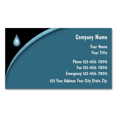 plumbing business card templates 271 best images about plumbing business card templates on