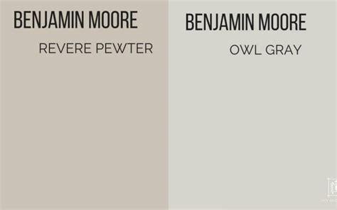 benjamin moore revere pewter     paint color