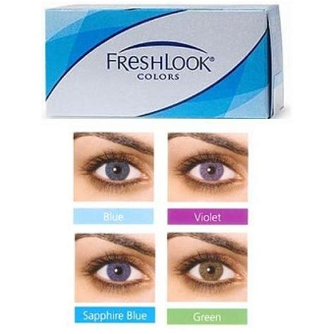 freshlook colors alcon freshlook colors 2 pack contact lenses