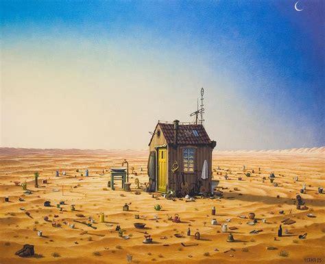 Mystery Island Kitchen Amazing Surreal Paintings By A Polish Artist Jacek Yerka