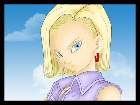 cell and android 18 soft cell shading android 18 by htivey on deviantart
