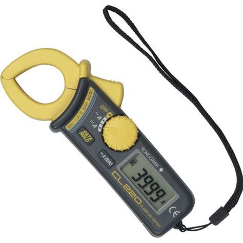 Multimeter Cl yokogawa cl220 300a ac dc mini cl meter tools supply
