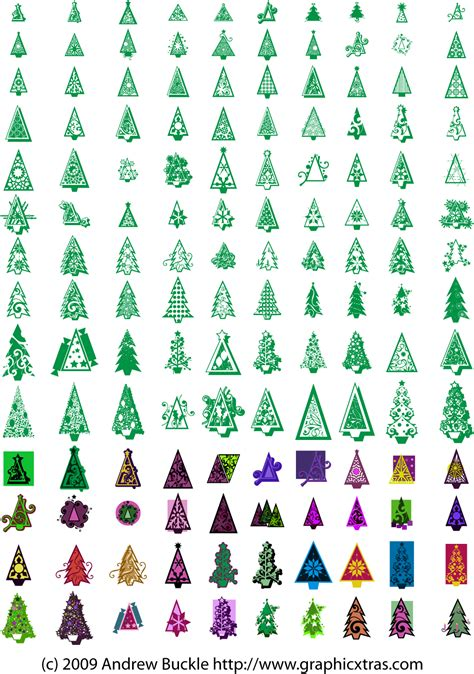christmas xmas symbols royalty free