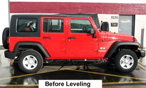 Jeep Wrangler Leveling Kit Leveling Kit For 2014 Jeep Wrangler Unlimited Autos Post