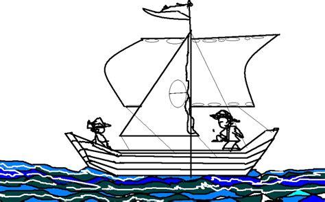 angka 4 four dijadikan gambar perahu layar terapi