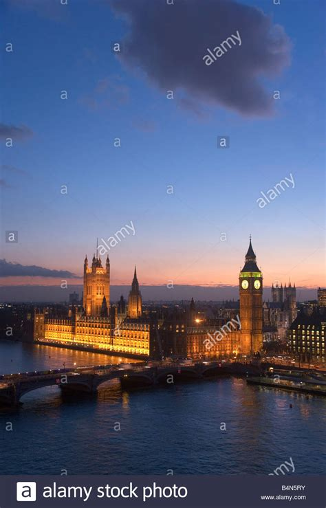 london skyline night  stock  london skyline night  stock images alamy