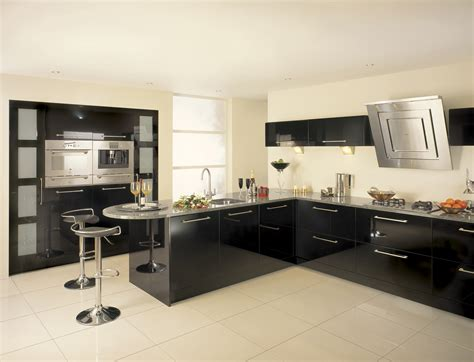 black gloss kitchen ideas fitted kitchens midland furniture company