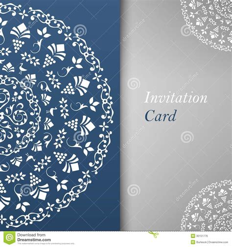 invitation card template royalty  stock image image