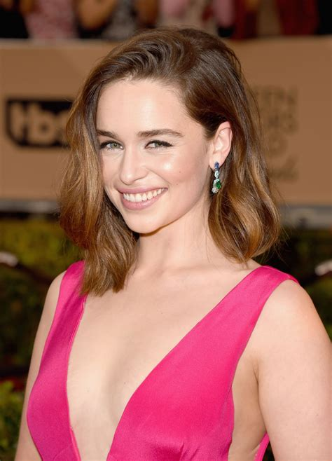 emilia clarke emilia clarke at screen actors guild awards 2016 in los