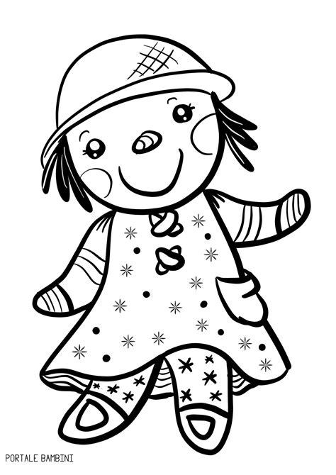 Disegni di Bambole da Stampare e Colorare (gratis (con