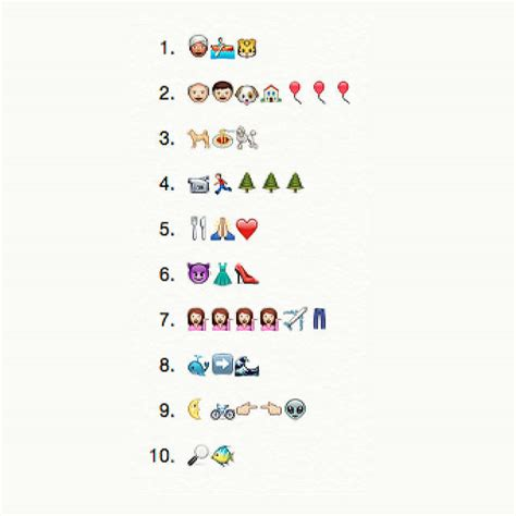film bruid mes emoji quiz the emoji challenge can you guess these titles