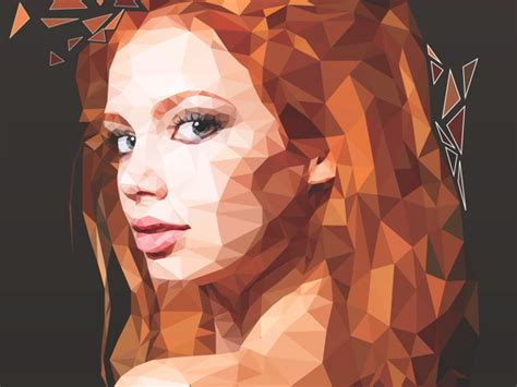 tutorial illustrator low poly master low poly portraits part 2 advanced photoshop