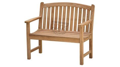 Bow 100cm best outdoor teak benches teak garden benches patio teak