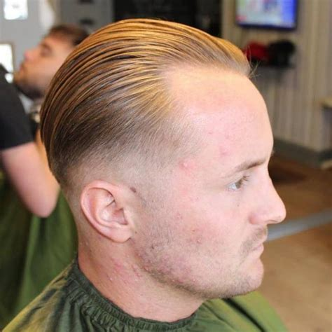 slick bsck hairstyle crown balding 45 cool hairstyles for balding men never too late to