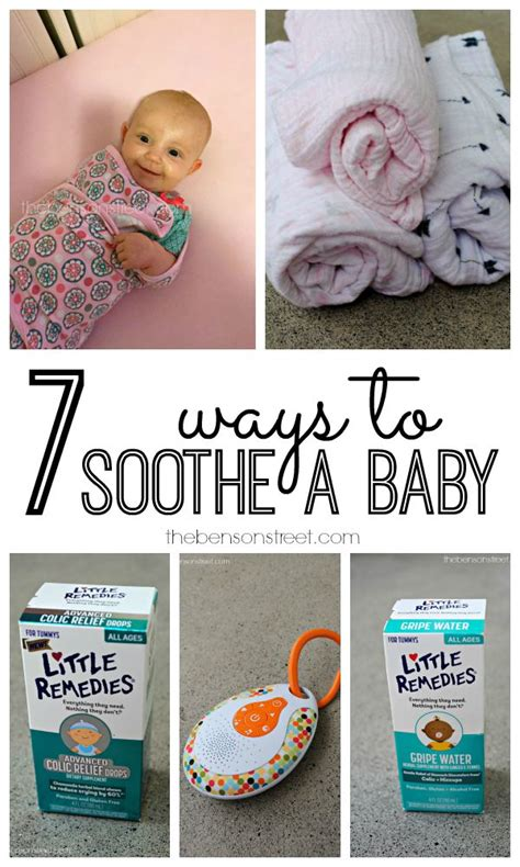 7 Ways To Soothe A Baby by 7 Ways To Soothe A Fussy Baby The Benson