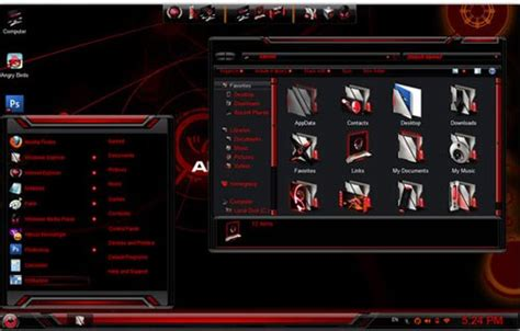 Laptop Dell Alienware Terbaru alienware skin theme pack terbaru 2 0 for windows 7 kumpulan
