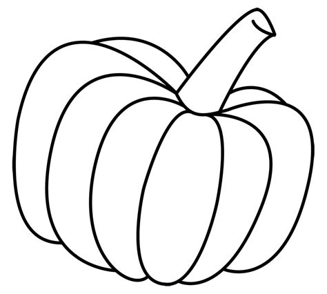 pumpkin outline coloring pages pumpkin clip art vegetable clip art downloadclipart org