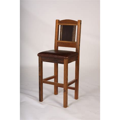 dining room bar stools sequoia bar stool 24 quot and 30 quot with leather seat green gables